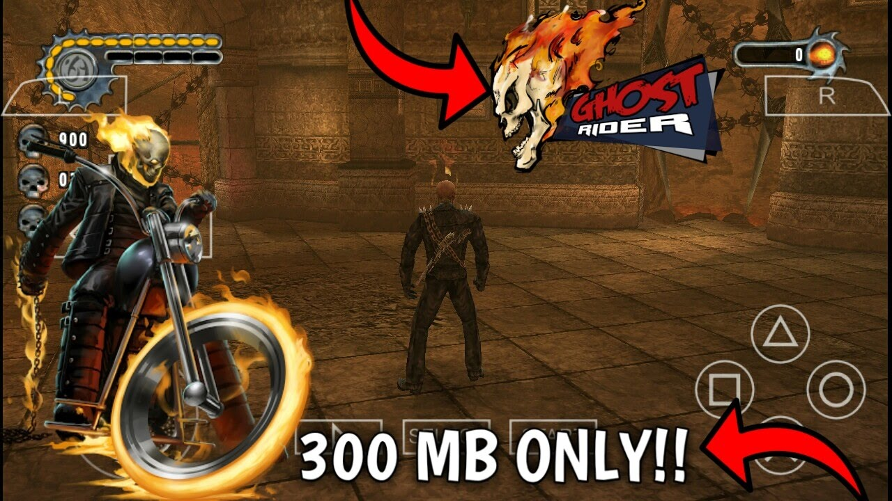 [300 MB]How To Download ghost rider game in any Android device (with  gameplay)