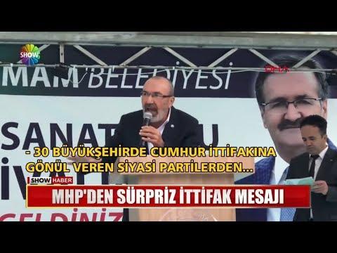 MHP'den Sürpriz Ittifak Mesajı