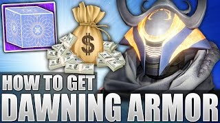 Destiny: How To Get EPIC Dawning Event Armor! New LOOT! $$? Another Festival Of The Cost?