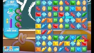 Very Difficult Level | Candy Crush Soda Saga Level 1298 ★★★ |  All Combo |  Move Indefinitely