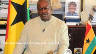 President of Ghana  H.E. John E.A. Mills Died at 68