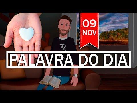 PALAVRA DE DEUS PARA HOJE, DIA 09 DE NOVEMBRO   ANIMA GOSPEL
