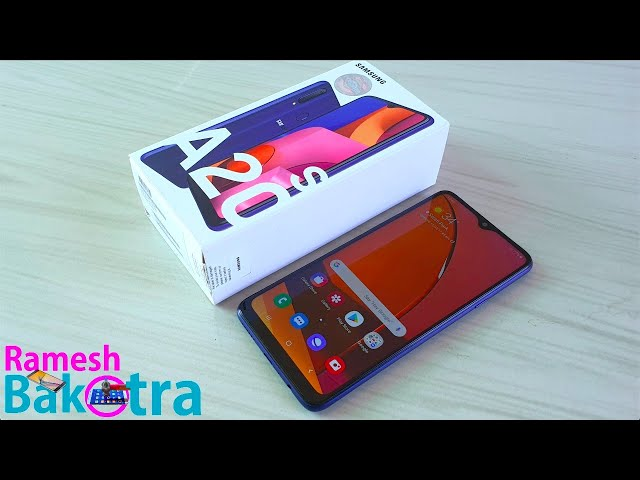 Samsung Galaxy A20s Unboxing and Full Review
