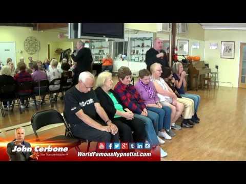 "John ""The Trance-Master"" Cerbone Hypnotizes Seniors and staff at a Senior Center"
