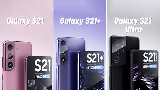 Samsung Galaxy S21 / S21 Plus / S21 Ultra LEAKS: all NEW features