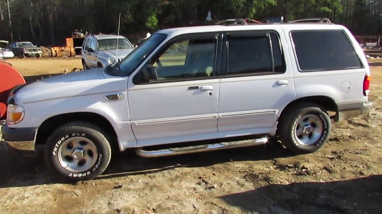 Scrapped?! 1999 Ford Explorer XLT! RUNS!-DRIVES! - YouTube