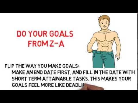 Do Your Goals from Z A