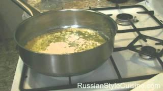 """Рыба запеченая с рисом и овощами, под соусом """"Бешамель"""""""