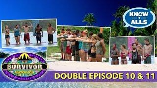 Survivor Cambodia Episodes 10 & 11  Recap   Know-It-Alls LIVE   Nov 25, 2015