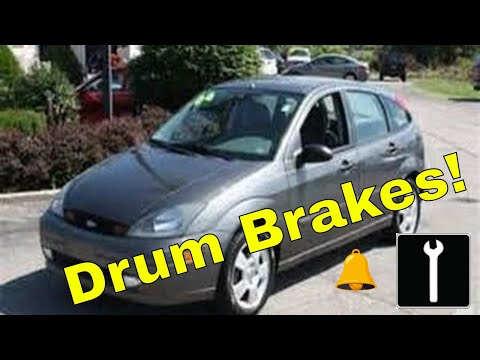 how to change drum brakes ford focus zx5 youtube. Black Bedroom Furniture Sets. Home Design Ideas