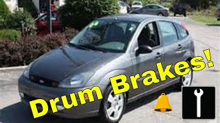 how to change drum brakes ford focus zx5