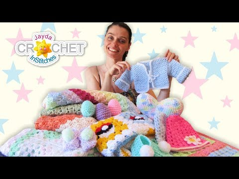 12 Beautiful Baby Shower Gifts To Crochet