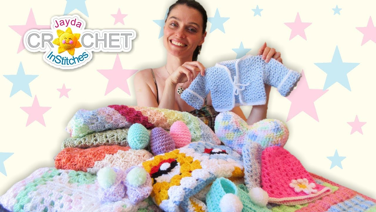 Beautiful Baby Shower Gifts To Crochet