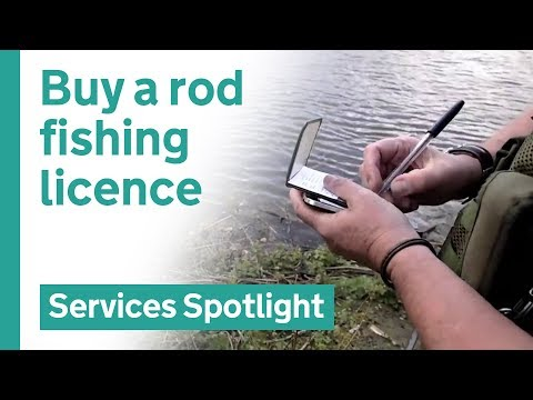 Buy A Fishing Rod Licence On GOV.UK