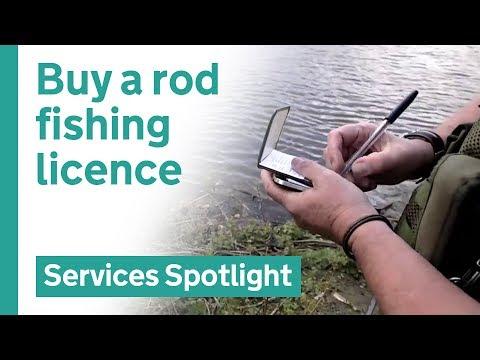 Buy A Fishing Rod Licence On GOV.UK