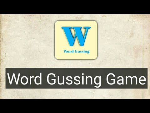 Create a word gussing Game in Sketchware