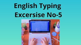 How To Learn English Typing At Home in GCC-TBC Government Typing Type All Course free lessen