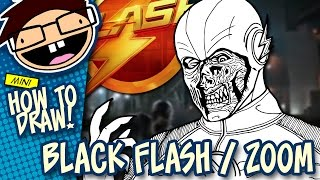 How to Draw BLACK FLASH / ZOOM (The Flash) Narrated Easy Step-by-Step Tutorial