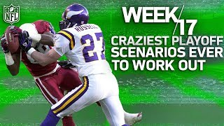The Craziest Week 17 Playoff Clinchers in NFL History | NFL Vault Stories