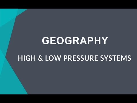 How High and Low Pressure Affects Precipitation