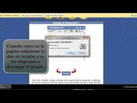 Poner Emoticonos Nuevos Y De Memes En Chat De Facebook ( Plugin)