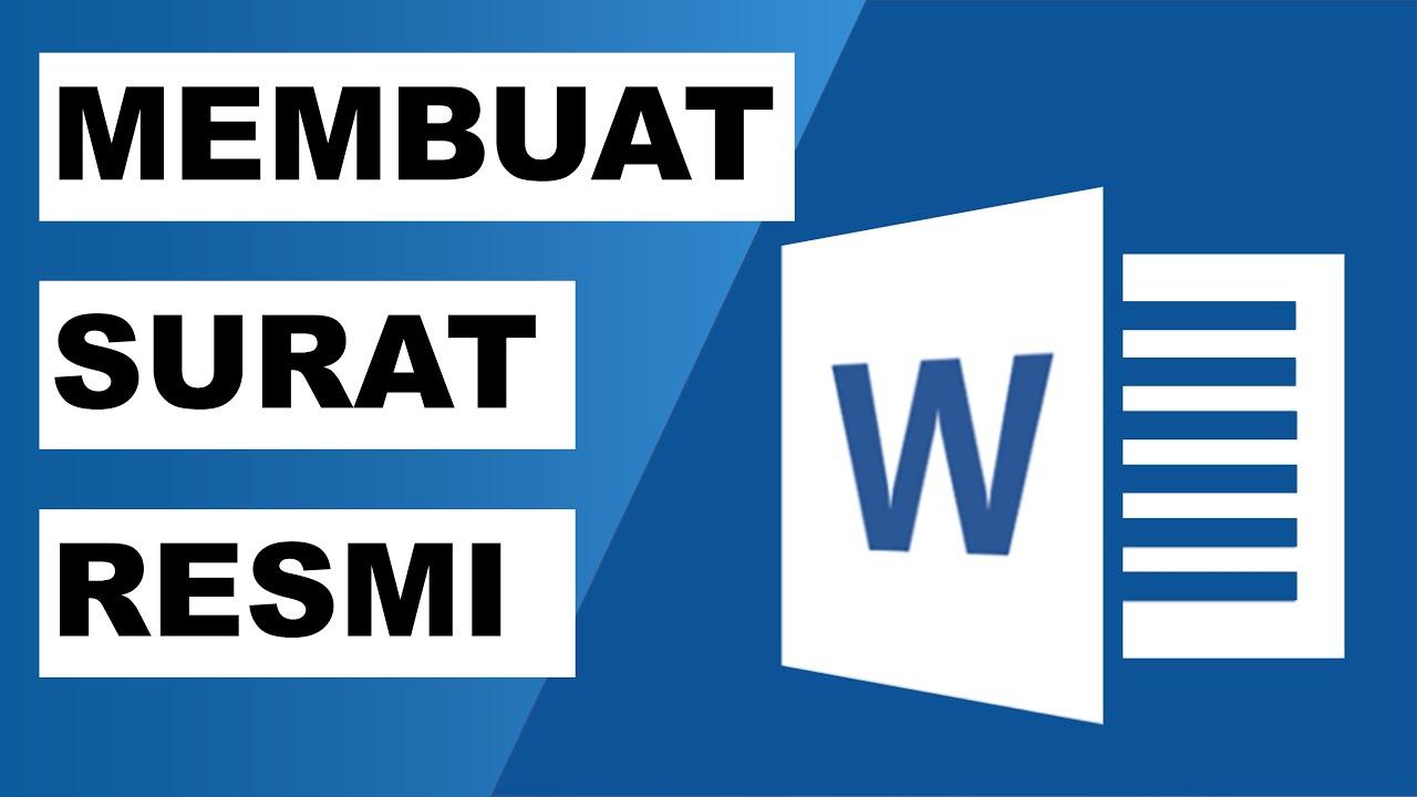 Cara Membuat Template Surat Bisnis Dengan Microsoft Word 2013