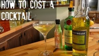 How to Cost Out a Cocktail