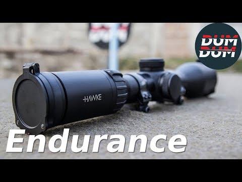 Hawke Endurance 1,5-6x44 test optike (riflescope test, eng subs)