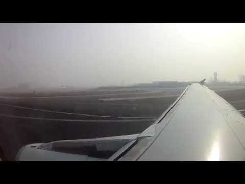 Take off Beijing Capital-Hongkong China Southern Airbus 321