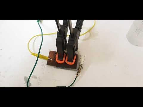 DIY a Rechargeable Copper Zinc Battery