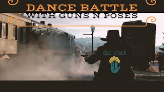 Dance battle old west style