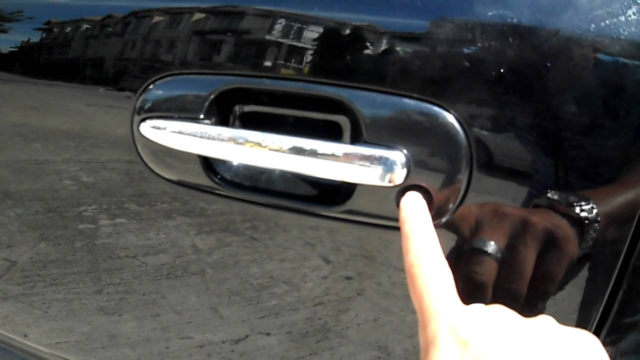 Honda CRV 2001 With Door Handle Switch - YouTube