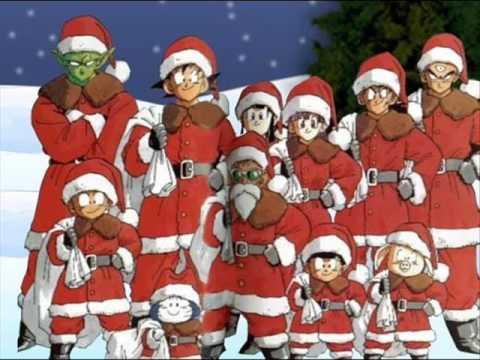 sailor moon christmas and dbz christmas
