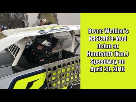 Bryce Weldon B-Mod Debut at Humboldt Speedway