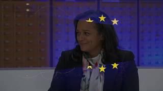 AFRIKA EUROPA : New Tech dans le secteur privé avec Isabel dos Santos .