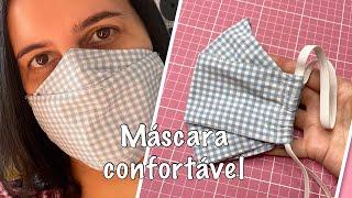 Máscara Confortável e Anatômica 3D