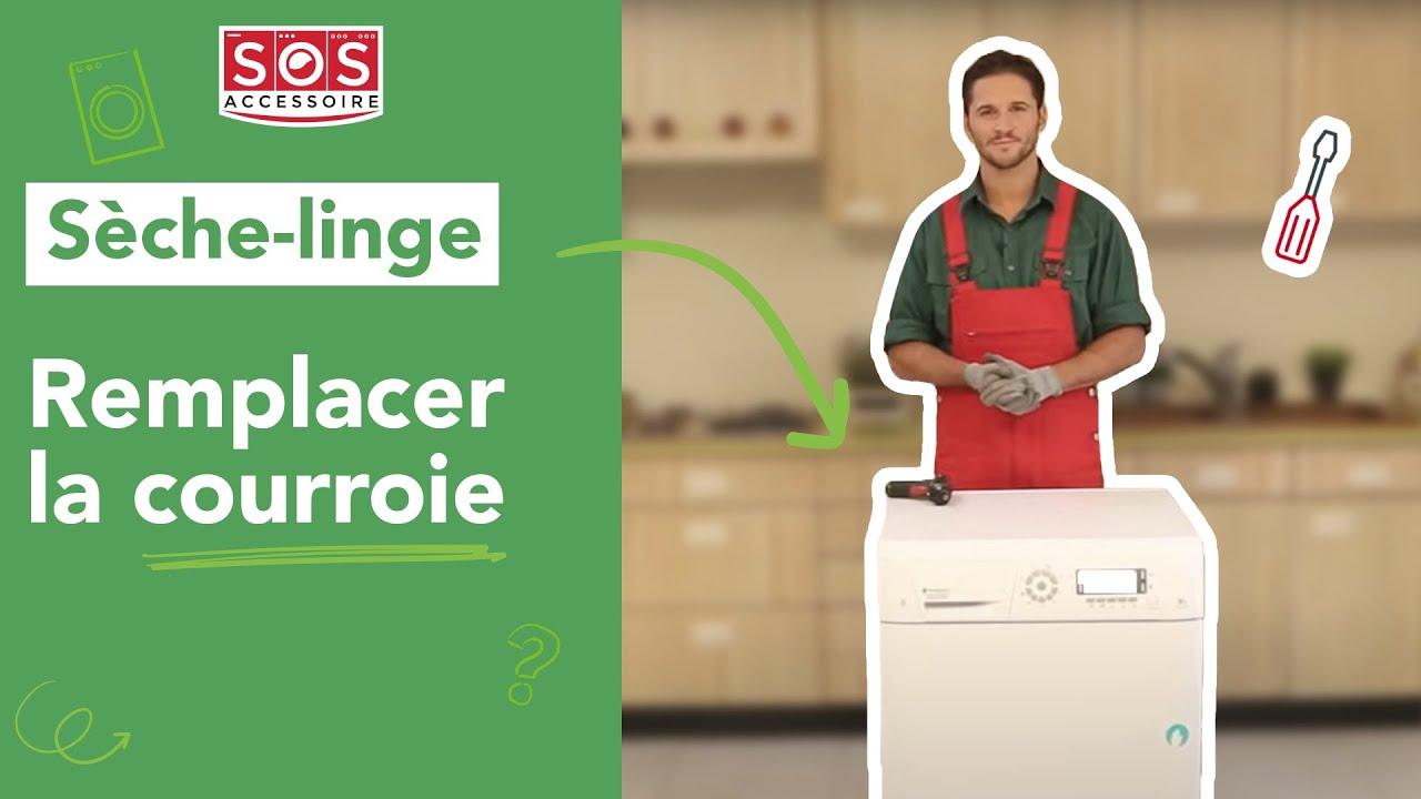 comment remplacer la courroie d un s 232 che linge 224 condensation