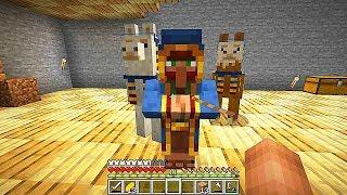 Minecraft Survival  El Secreto Del Viajero Que Visita Mi Casa  Mundo Elioditos Cap 9
