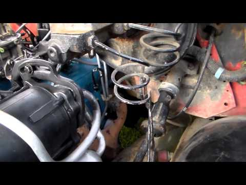 Replacing sending units on a Chevy 350