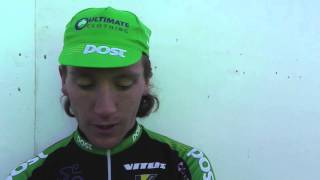 Gambar cover Aaron The Flying Mullet of AN Post CRC stage 4 Tour of Britain 2013