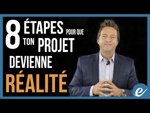 8 ÉTAPES POUR QUE TON PROJET DEVIENNE RÉALITÉ - Luc Dumont