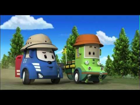 Робокар Поли - Трансформеры - Поиски клада (мультфильм 25)