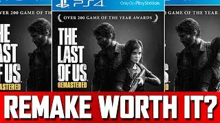 Would You Re-Buy a Game for Better Graphics? Last of Us Remastered PS4 Edition