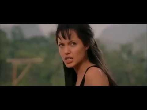 Angelina Jolie Spitting