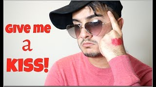 Give me a KISS!!   Shahveer Jafry