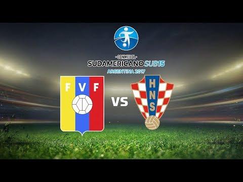 PES 6 Sudamericano Sub 15 Venezuela Vs Croacia