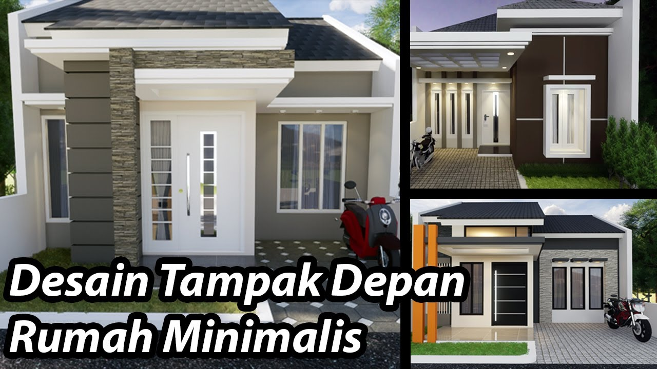 Desain Tampak Depan Rumah Minimalis 2019 Youtube