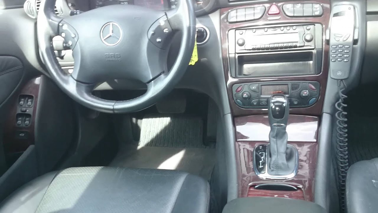 mercedes benz c220 cdi elegance 2001 youtube. Black Bedroom Furniture Sets. Home Design Ideas
