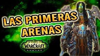 World of Warcraft | DK ESCARCHA - PRIMERAS ARENAS CON EL PJ A NIVEL 110