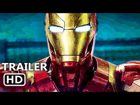 "BLACK PANTHER ""Iron Man"" International Trailer (2018) Superhero Marvel Movie HD"
